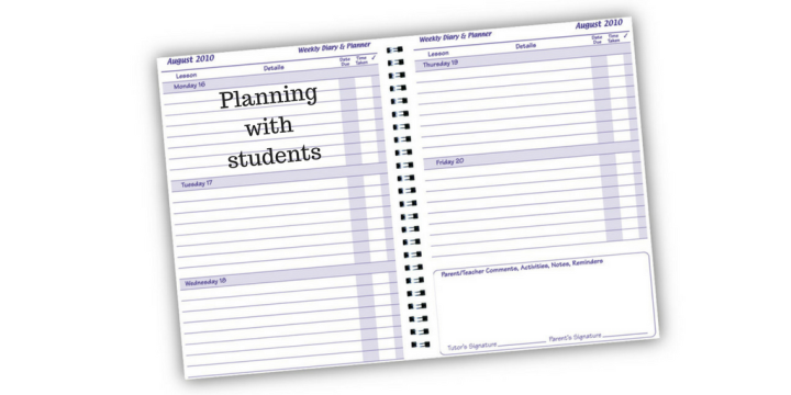 The Student Planner (but not the one you're thinkingof…)