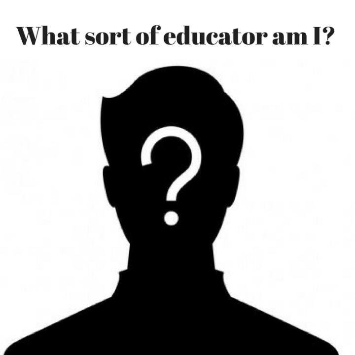 What sort of educator amI?